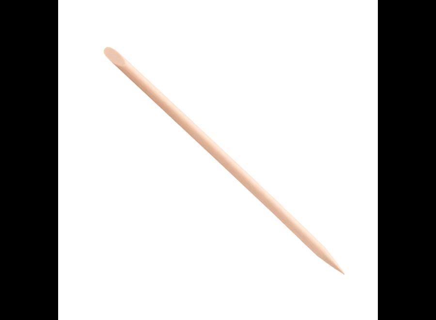 Nagelriempusher - Hout - 100 Stuks