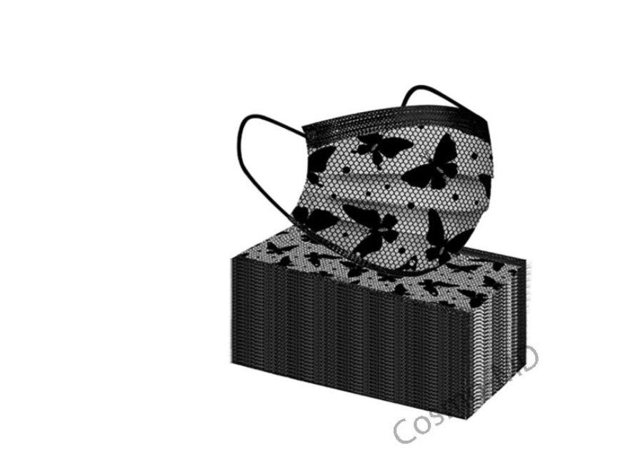 Mondmasker - Vlinder - Wegwerp - 50 Stuks