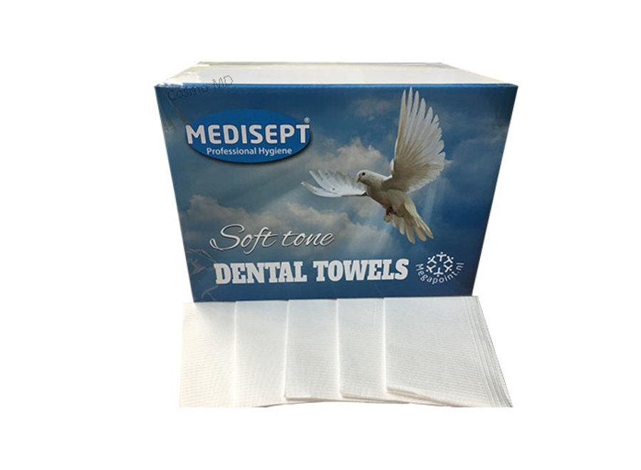 Medisept Dental Towels Soft Tone Kleur Wit