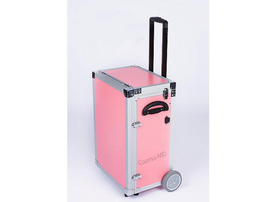 Luxe ambulante pedicurekoffer - Roze