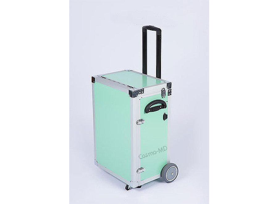 Luxe ambulante pedicurekoffer - Munt Groen