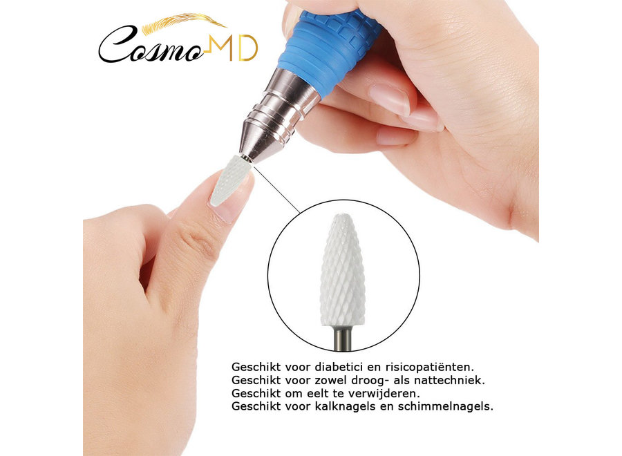 Keramische Frees - Pedicure en Manicure – Nagelfrees Bitje - grof