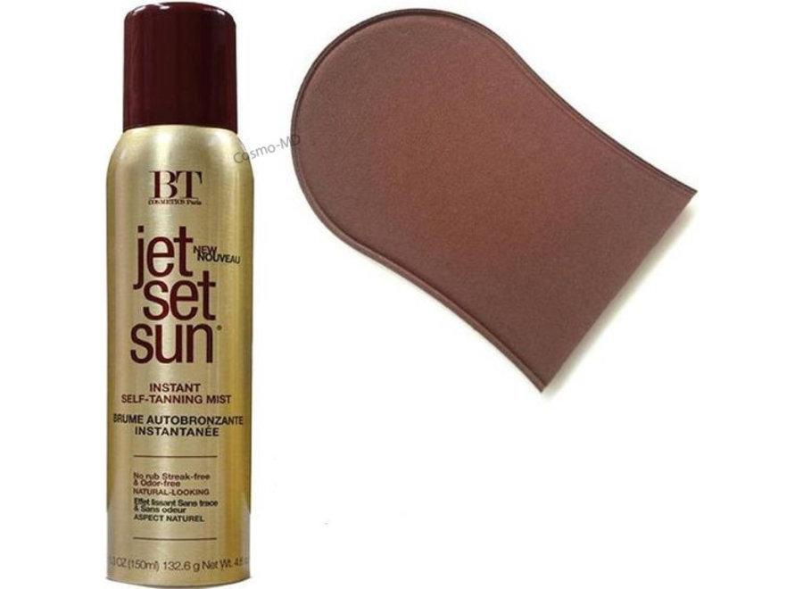 Jet Set Sun - Self Tanning Mist (150ml) met Handschoen