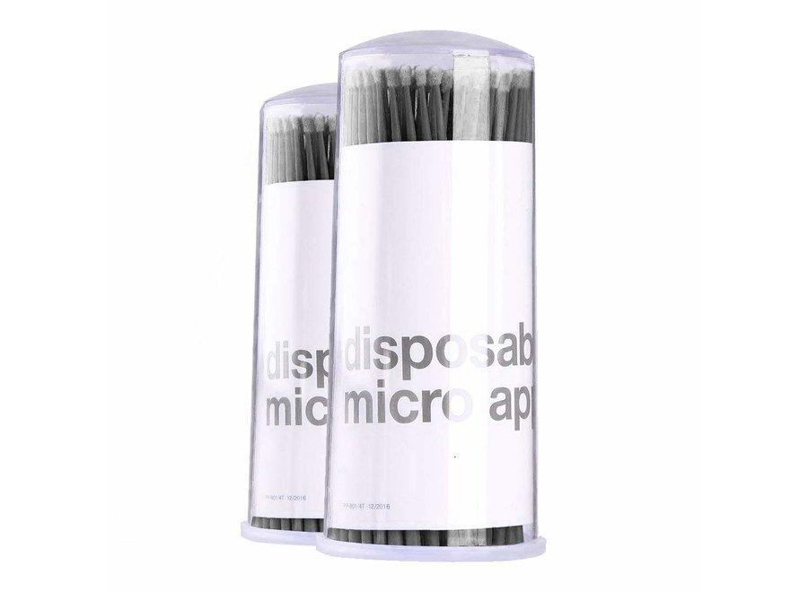 Disposable Micro Applicators - Zwart - 100 Stuks