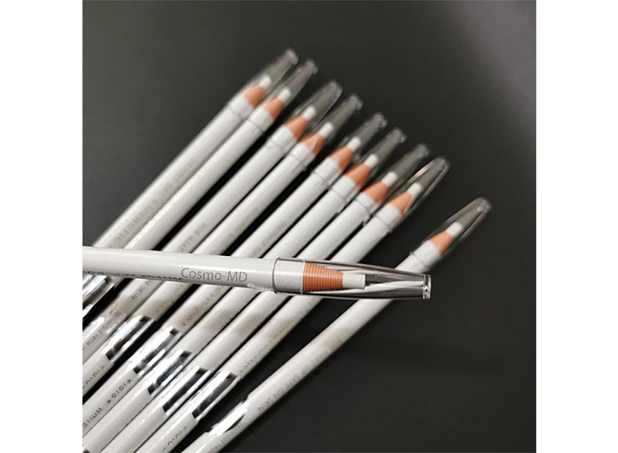 Coloured Soft Cosmetic Art - Pencil - Wit - 1 Stuk