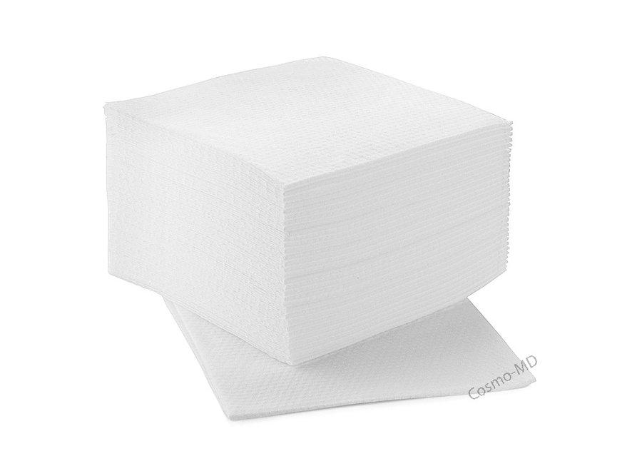 Wegwerp Handdoeken - Wit - 35 Stuks