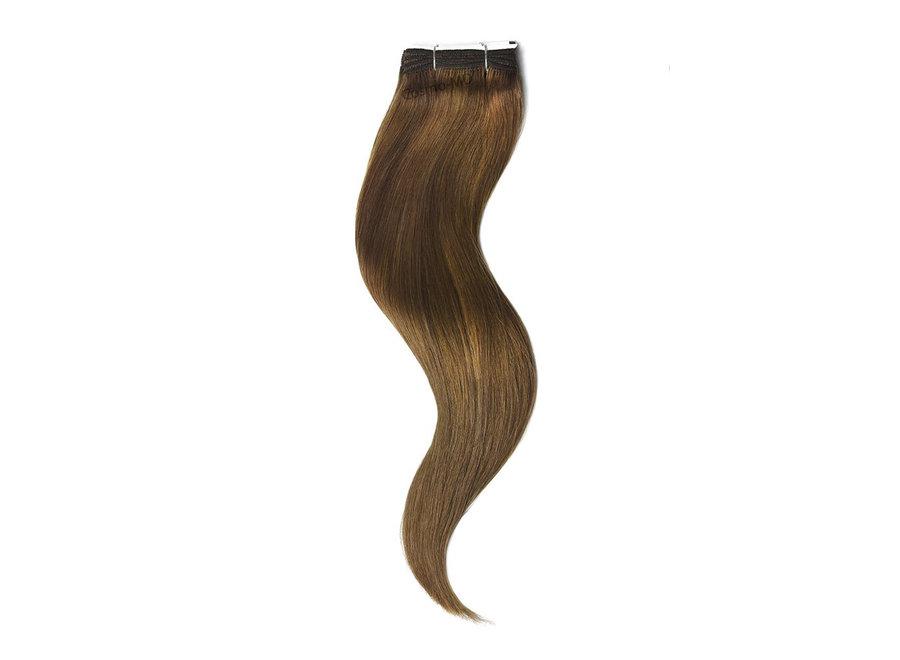 Haar extensions weave (steil) 50cm (110gram) - Kleur (#5) Toffee Brown