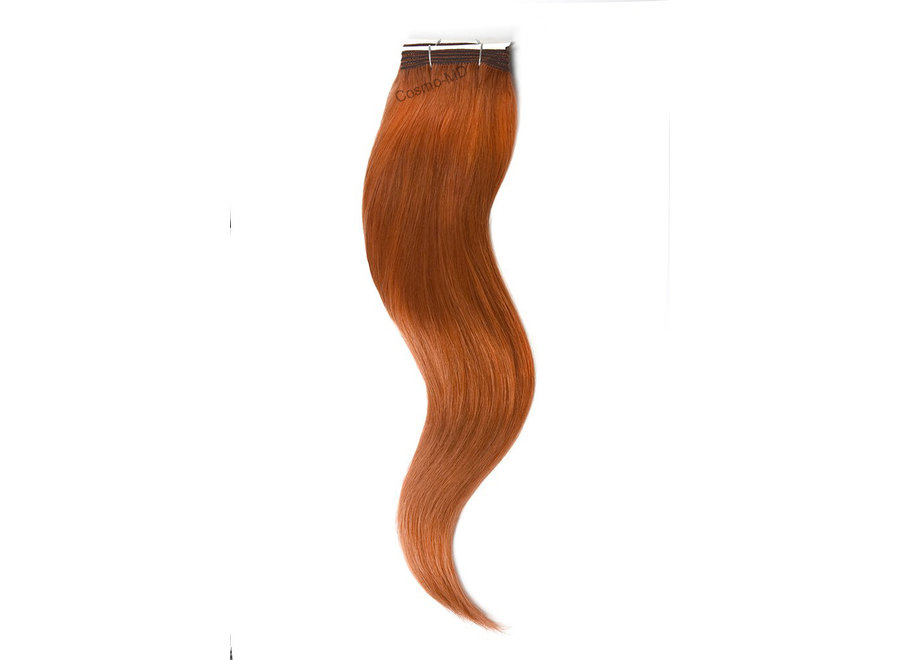 Haar extensions weave (steil) 50cm (110gram) - kleur (#350) Ginger Red/Natural Red