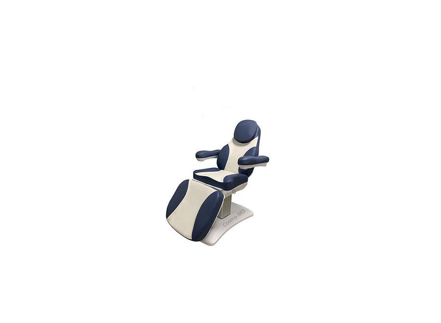 Behandelstoel Venus in Blauw Wit Kleurcombinatie