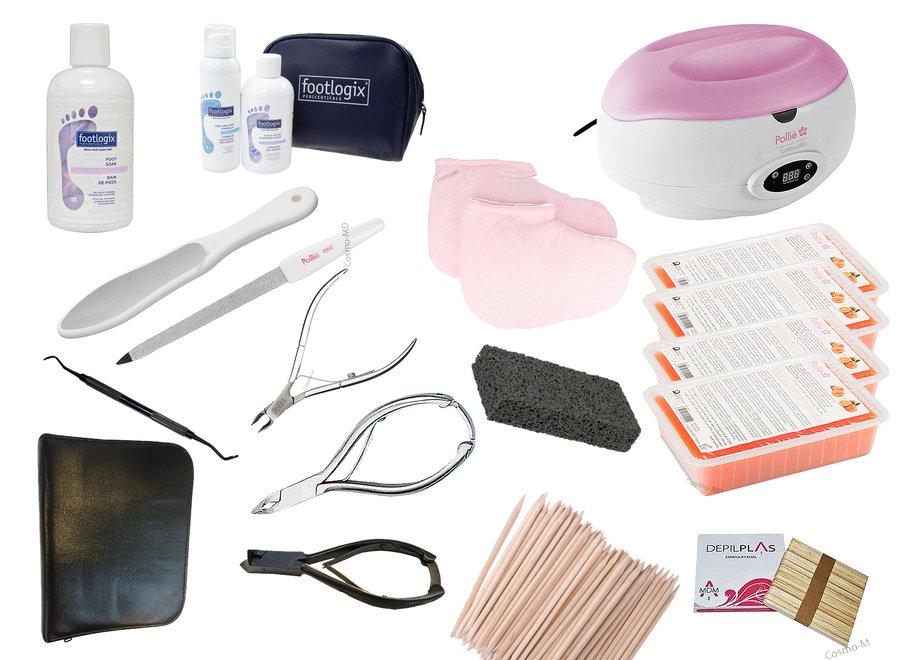Opleiding cosmetische spa pedicure + starterskit