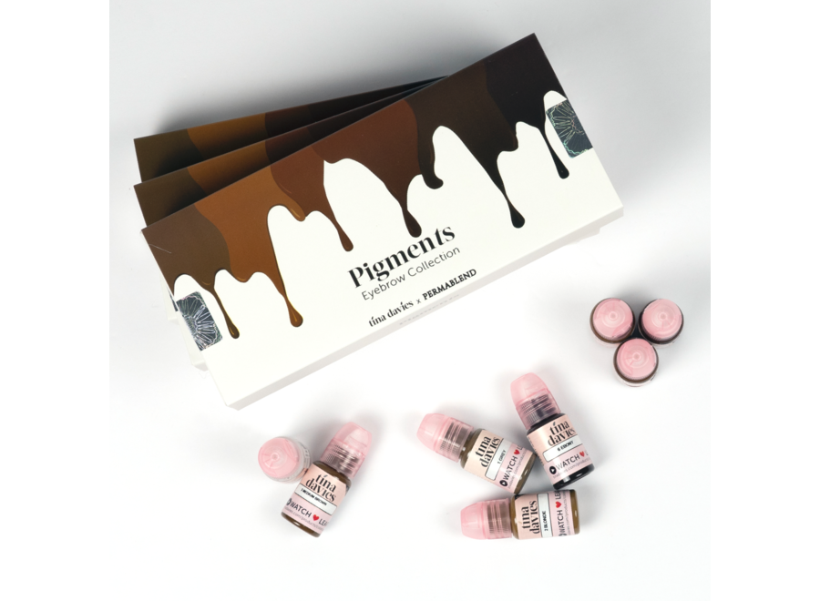 Perma Blend - Tina Davies Eyebrow Collection - 8 x 15 ml