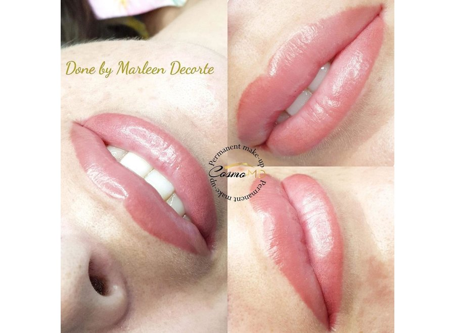 Opleiding master class PMU full lips