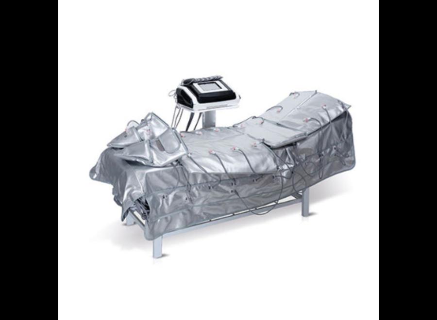 Pressotherapie 3 in 1 lymfedrainage/infrarood/spierstimulatie