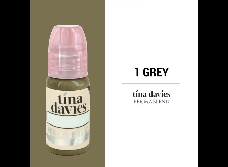 PERMA BLEND - TINA DAVIES - GREY 15ML