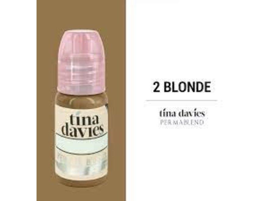 PERMA BLEND - TINA DAVIES - 2BLONDE 15ML