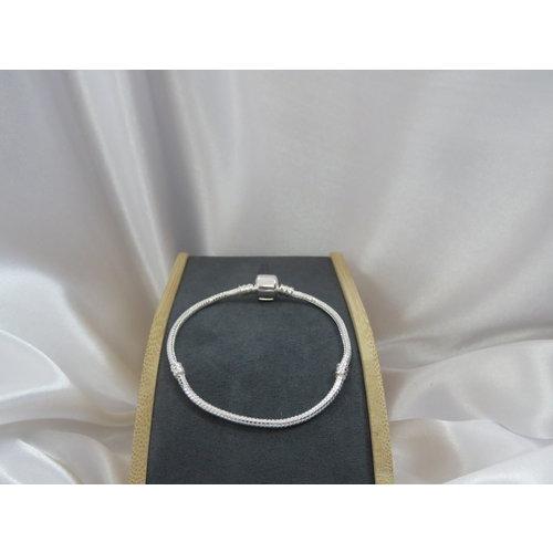 HYKS armbanden Zilveren 925  Armband met Snake-Chain