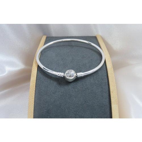 HYKS armbanden Zilveren 925 Kasteel Armband en zirkonia's