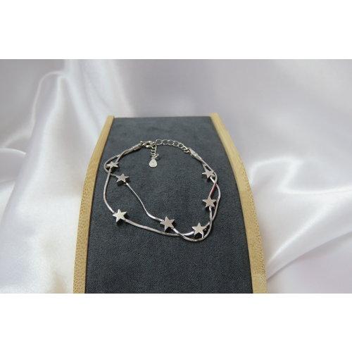 HYKS armbanden Zilveren 925 Sterretjes Armband