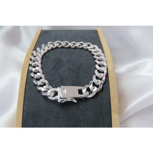 HYKS armbanden Zilveren 925 Heren schakel armband