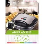 Adler AD3015 - Tosti ijzer