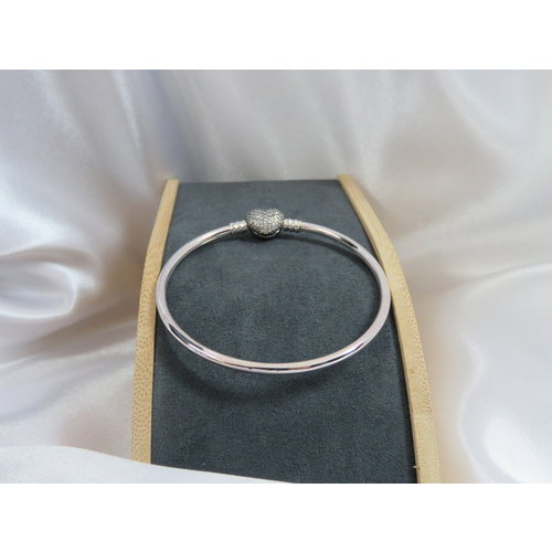 HYKS armbanden Zilveren 925 Pandora Bangle Armband en zirkonia's