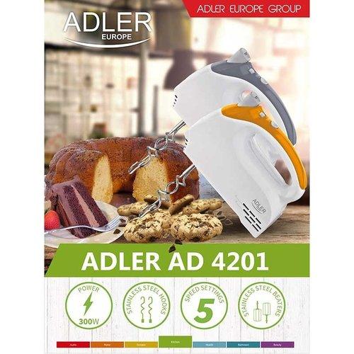 Adler AD4201 - Handmixer - grijs