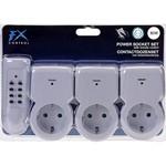 FX Tools 3 Contactdozen met afstandsbediening