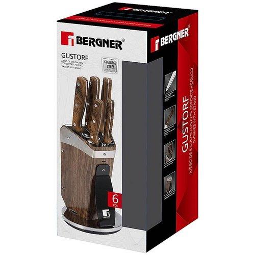 Bergner - 5 messen met houder