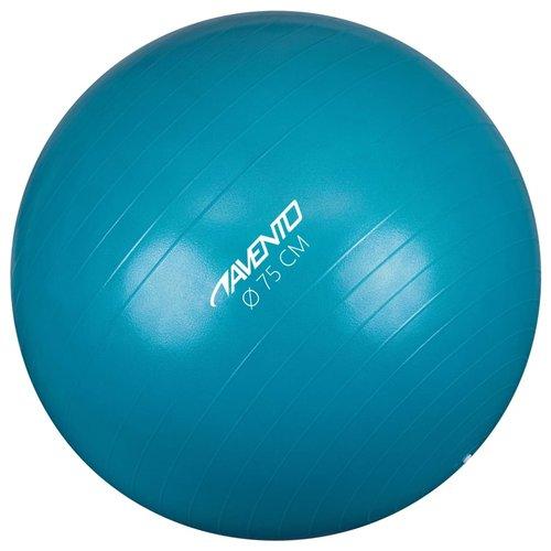 Avento Fitnessbal 75 cm blauw