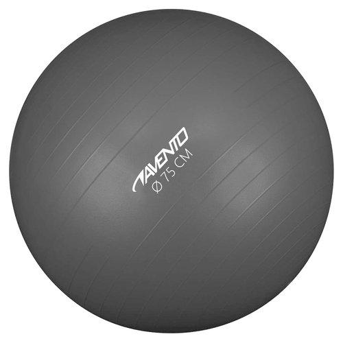 Avento Fitnessbal 75 cm zwart