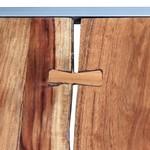 2-delige Salontafelset massief acaciahout