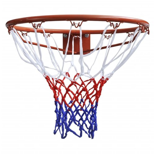 Basketbalringset met net 45 cm oranje