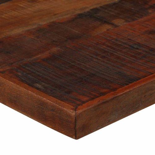 Bartafel 120x60x107 cm massief gerecycled hout donkerbruin