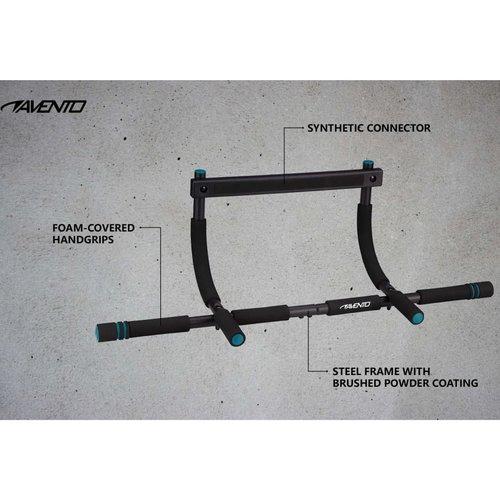 Avento Optrekstang deurmodel staal