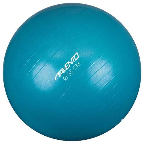 Avento Fitnessbal 55 cm blauw