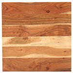 Bartafel vierkant 60x60x110 cm massief acaciahout