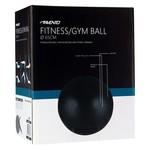 Avento Fitnessbal 65 cm zwart