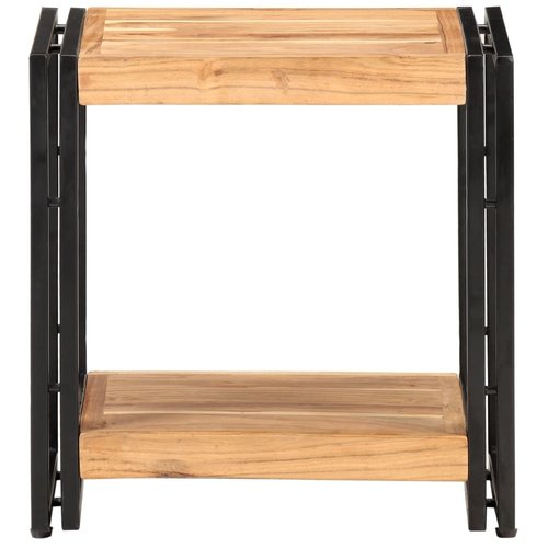 Bijzettafel 40x30x40 cm massief acaciahout