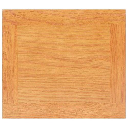 Bijzettafel 27x24x55 cm massief eikenhout