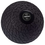 Avento Slambal structuur 10 kg zwart