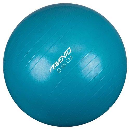 Avento Fitnessbal 65 cm blauw