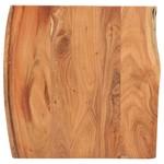 Bartafel met natuurlijke randen 60x60x110 cm massief acaciahout