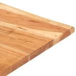 Bartafel met natuurlijke randen 50x50x110 cm massief acaciahout