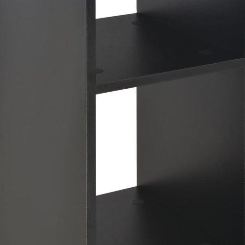 Bartafel 60x60x110 cm zwart