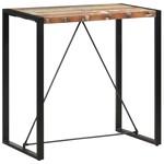 Bartafel 110x60x110 cm massief gerecycled hout
