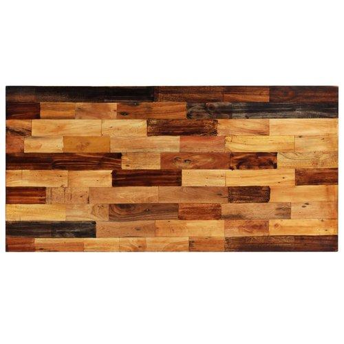 Bartafel 120x60x106 cm massief gerecycled hout
