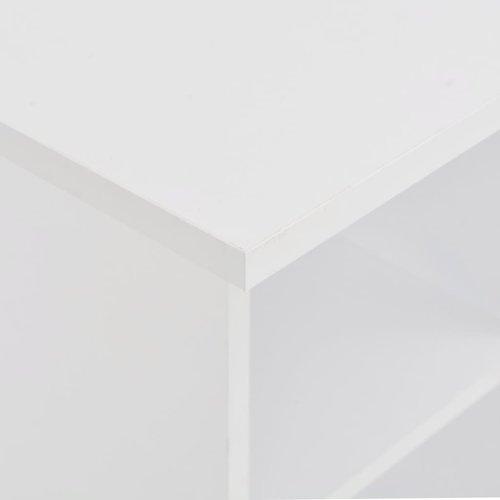 Bartafel 60x60x110 cm wit