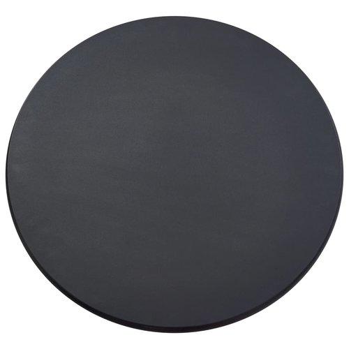 Bartafel 60x107,5 cm MDF zwart