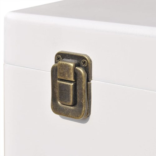 Bijzetkastje 40x30x57 cm wit