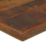 Bartafel 180x70x107 cm massief gerecycled hout donkerbruin